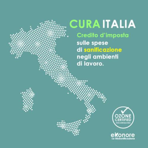 decreto cura italia, detrazione per sanificazione
