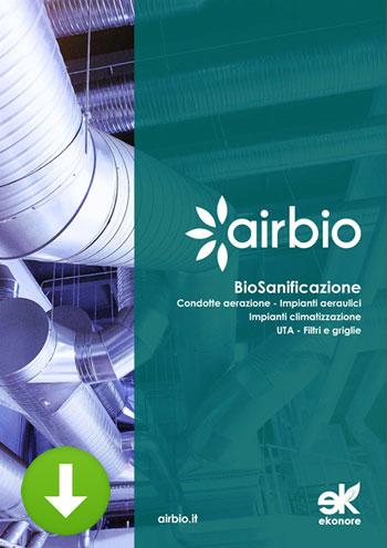 Sanificazione impianti climatizzazione e condotte aerazione